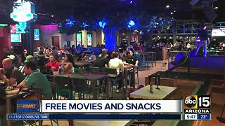 Free movies and popcorn at The Park Bar - Video