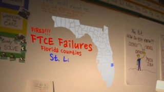 Hundreds of Florida teachers fired over state test they keep failing - Video