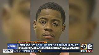 Man accused of killing 3-year-old McKenzie Elliott in court - Video
