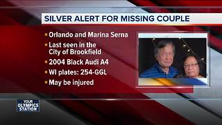Silver Alert: Brookfield couple missing, may be injured
