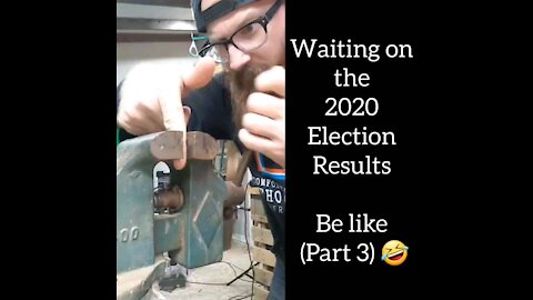 Waiting on the election results be like... 😂 😂 😂