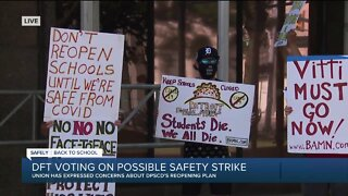 Detroit school teachers to vote on safety strike that could keep them from in-person classes