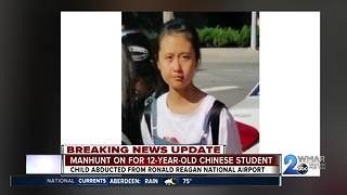 Manhunt on for missing Chinese 12-year-old, Police: she's in