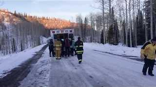 Video Shows Emotional Reunion Between Avalanche Survivor and His Wife - Video