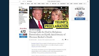 Front Page with Scott Goulet ~ Trump Now Most Admired Man in America 2020.