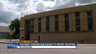 Teachers charged for failing to report shooting