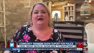 Local groups show support for law enforcement and first responders