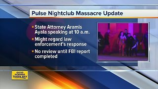 Pulse massacre: State Attorney to hold news conference Wednesday morning