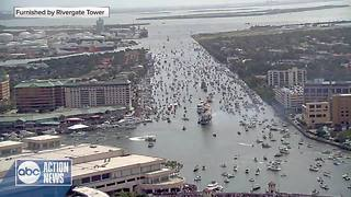 2018 Gasparilla Invasion Time Lapse - Video