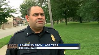 Police learning from last year's Sherman Park violence - Video