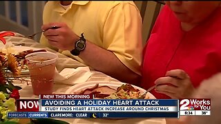 Avoiding a holiday heart attack: Study finds heart attack increase around Christmas