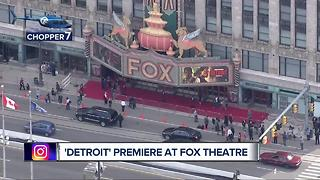 Detroit premieres at Fox Theatre - Video