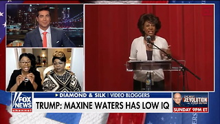 Diamond and Silk Throw Jesse Watters Off-Guard with Incredible Slam on Maxine Waters - Video