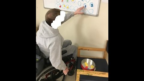 Sensory Activities Using Magnetic White Board
