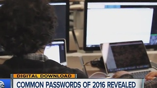 Most common passwords of 2016 revealed