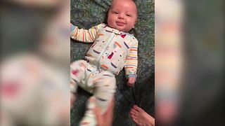"""Cute Baby Dances To Whip Nae Nae"""
