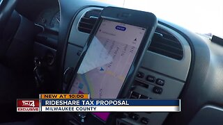 Milwaukee County supervisor wants special tax for Uber and Lyft rides
