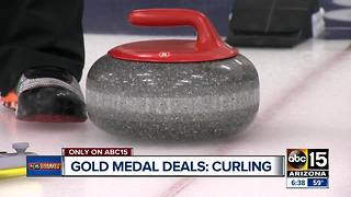 Gold Medal Deals: Curling in the Valley - Video