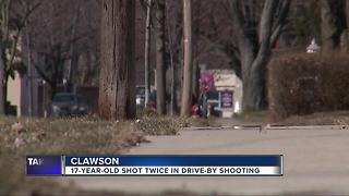 Search underway for suspect after drive-by shooting in Clawson
