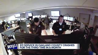 911 restored for Oakland County Sheriff's Office - Video