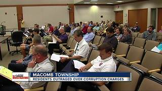 Residents calling for resignations of Macomb Township elected officials - Video
