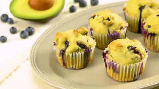 Avocado Blueberry Muffins - Video