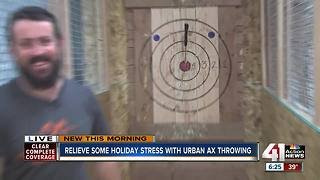 Blade and Timber: Urban axe throwing in the West Bottoms - Video