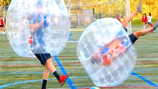 4 Tips to Getting Fit with Bubble Soccer - Video