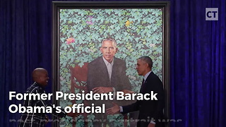 Liberals Rave About Obama Portrait.... Miss Humiliating Surprise Artist Snuck In - Video