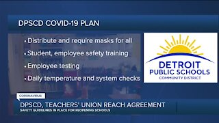 Detroit public schools, Detroit Federation of Teachers agree on back to school plan