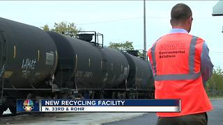 North side recycling plants moves into north side - Video