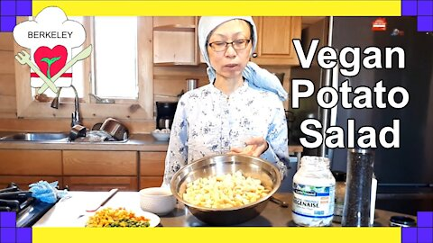 How to make tasty potato salad with no dairy
