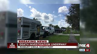 Death investigation underway in North Port - Video