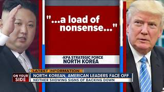 North Korean, American leaders face off - Video