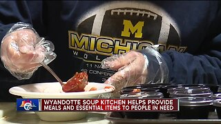 Wyandotte Soup Kitchen helps provide meals, essential items to people in need