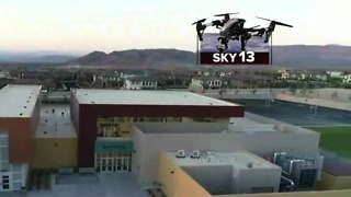 Sky13 on the scene of new schools opening in Las Vegas - Video