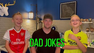 Dad Jokes with kids [Try not to Laugh]