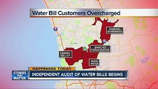Rising costs leads to independent water bill audit - Video