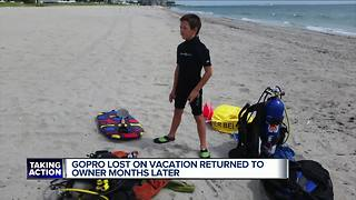 GoPro lost on vacation returned to owner months later - Video