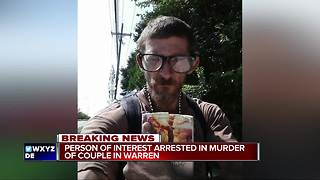 Police arrest suspect in double homicide of metro Detroit couple