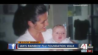 Interview: Ian's Rainbow Flu Foundation Walk - Video