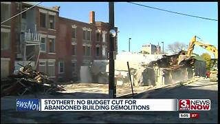 Abandon building demolitions funded - Video
