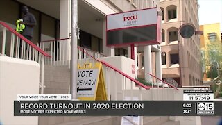 Record turnout in 2020 election