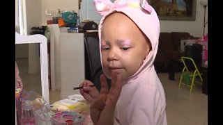 Izzy beats cancer, celebrates 4th birthday