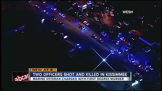 Officers shot and killed in Kissimmee - Video