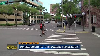 Tampa Mayoral Forum focuses on pedestrian, bicycle safety