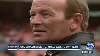 Beth Bowlen Wallace throws hat in Broncos ownership ring - Video