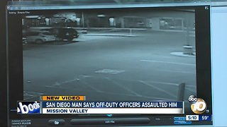 San Diego man says off-duty officers assaulted him