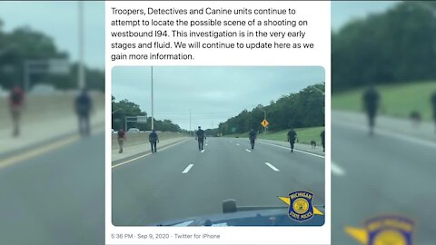 State police investigating possible freeway shooting in Harper Woods