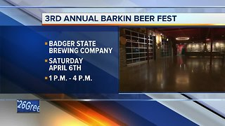 Badger State Brewing Company hosts 3rd Annual Barkin Beer Fest fundraiser
